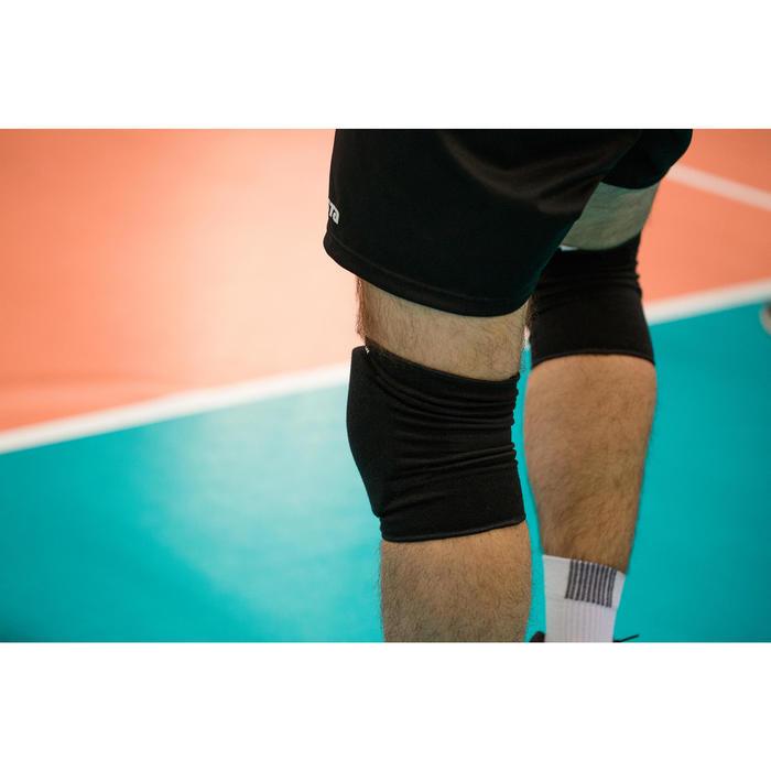 Rodilleras de voleibol V500 negro