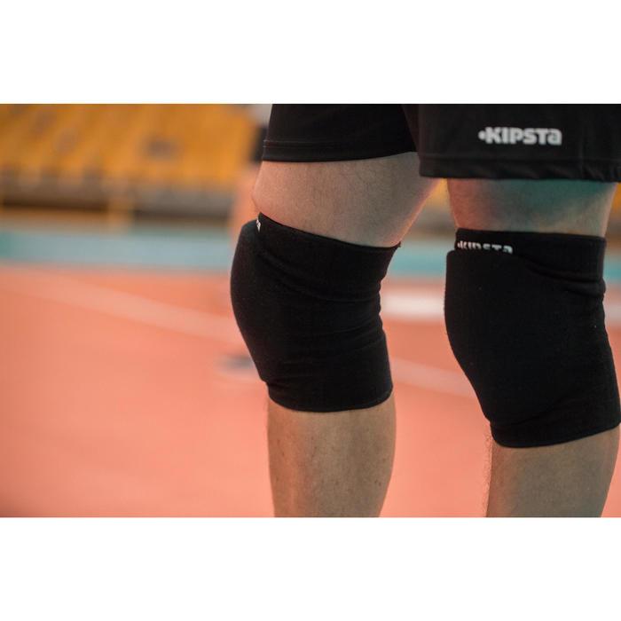 Kniebeschermers voor volleybal V500 zwart