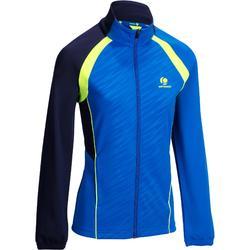Dry 500 女性羽毛球運動夾克 - 藍色