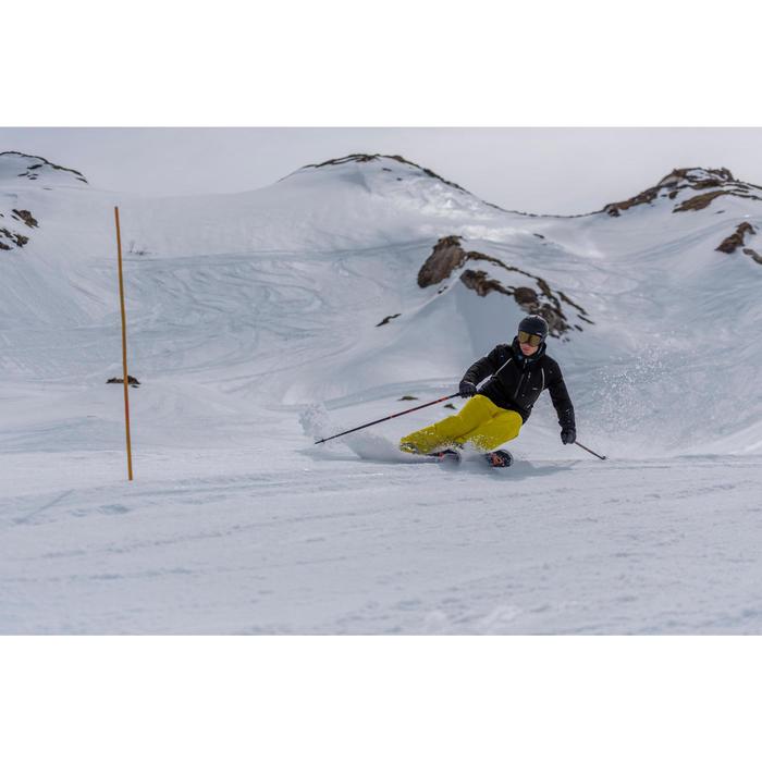 MASQUE DE SKI ET DE SNOWBOARD ADULTE ET ENFANT G 500 PH TOUS TEMPS NOIR
