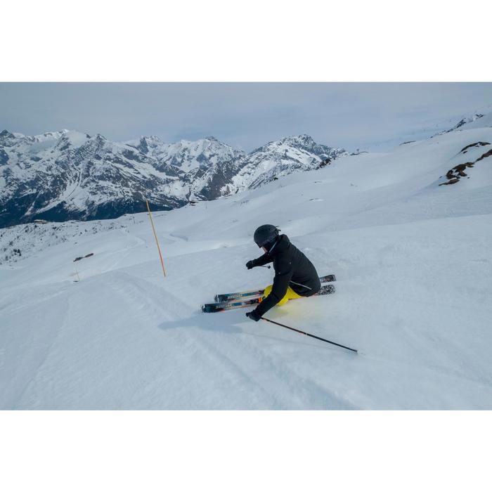 MASQUE DE SKI ET DE SNOWBOARD ENFANT ET ADULTE G 500 PH TOUS TEMPS NOIR