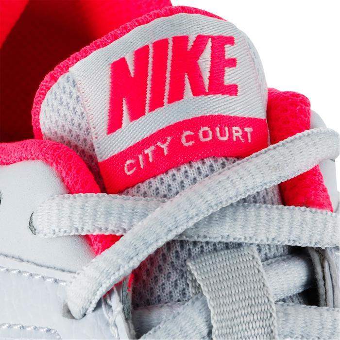 CHAUSSURES DE TENNIS ENFANT NIKE CITY COURT GRIS ROSE - 1245077