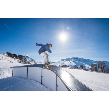 VESTE SKI ET SNOWBOARD HOMME FREE 500 MARINE