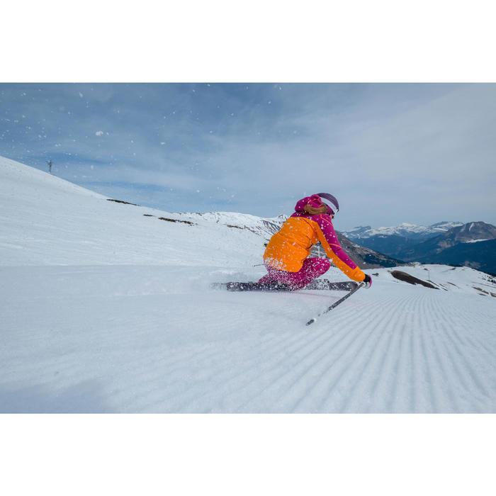 Chaqueta de esquí para mujer Slide 700 violeta naranja