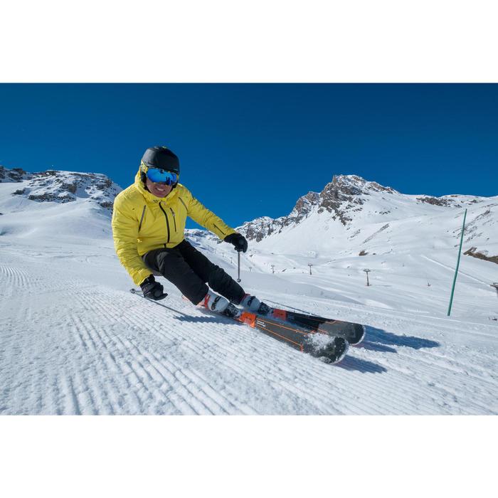MASQUE DE SKI ET DE SNOWBOARD HOMME BONES 500 BEAU TEMPS JAUNE - 18