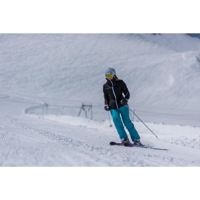 Pantalon ski femme Slide 300 turquoise