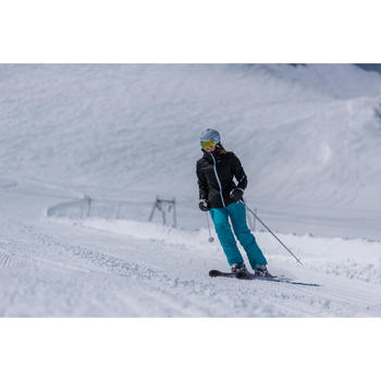 Ski-jas voor dames All Mountain 580 zwart