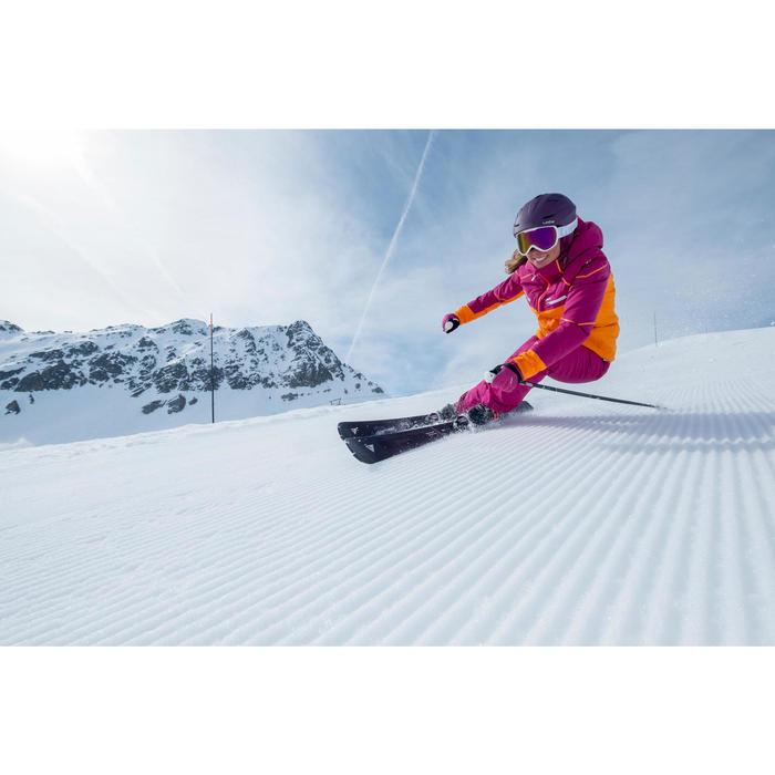 Pantalon ski femme Slide 500 violet