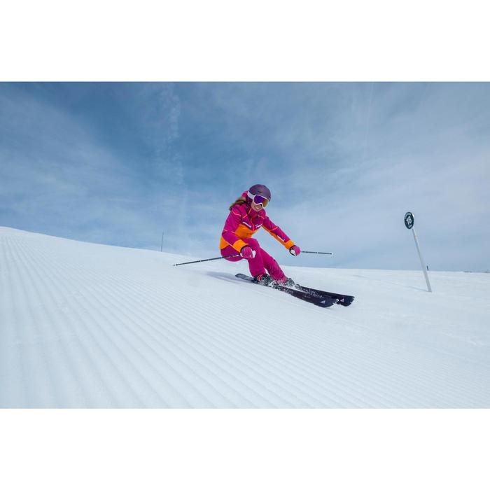 Pantalón esquí mujer Slide 500 violeta