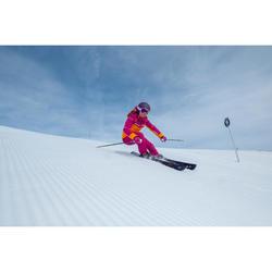 Skistokken voor dames pisteskiën Adix 500 zwart en wit