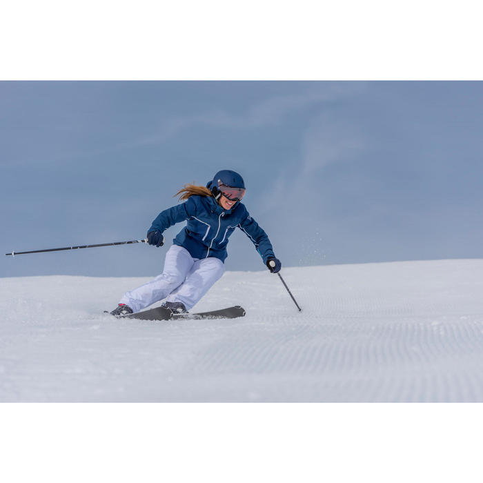 Skihandschuhe Piste 500 Erwachsene blau