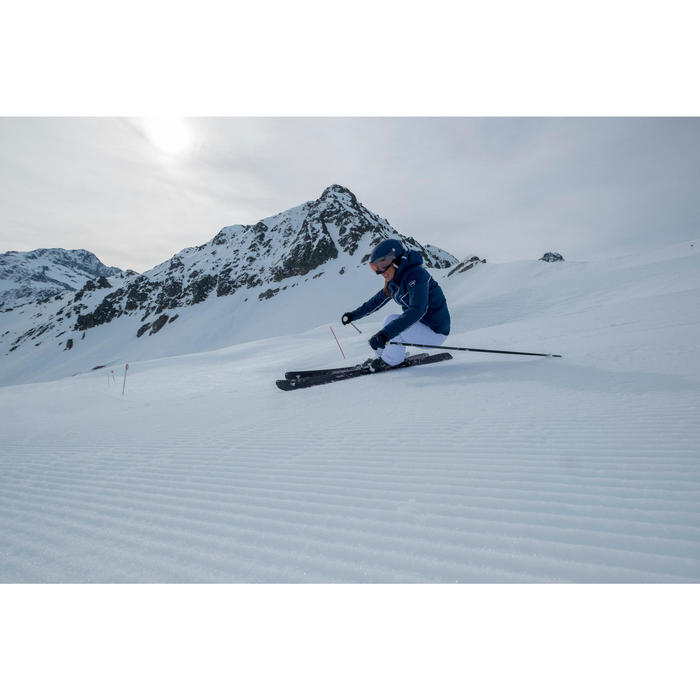 女款雙板下坡滑雪板ADIX 700 - 黑色
