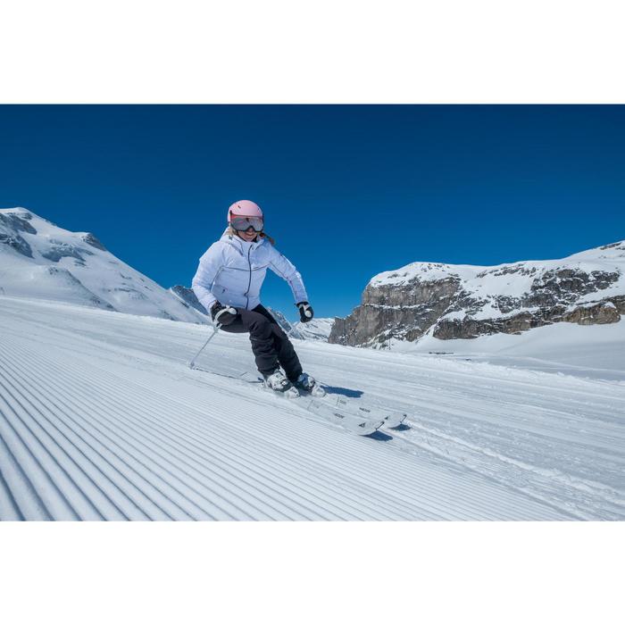 Skihandschuhe Fäustlinge Slide 300 Erwachsene schwarz