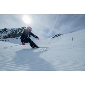 Dames skibroek voor pisteskiën SKI-P PA 100 zwart