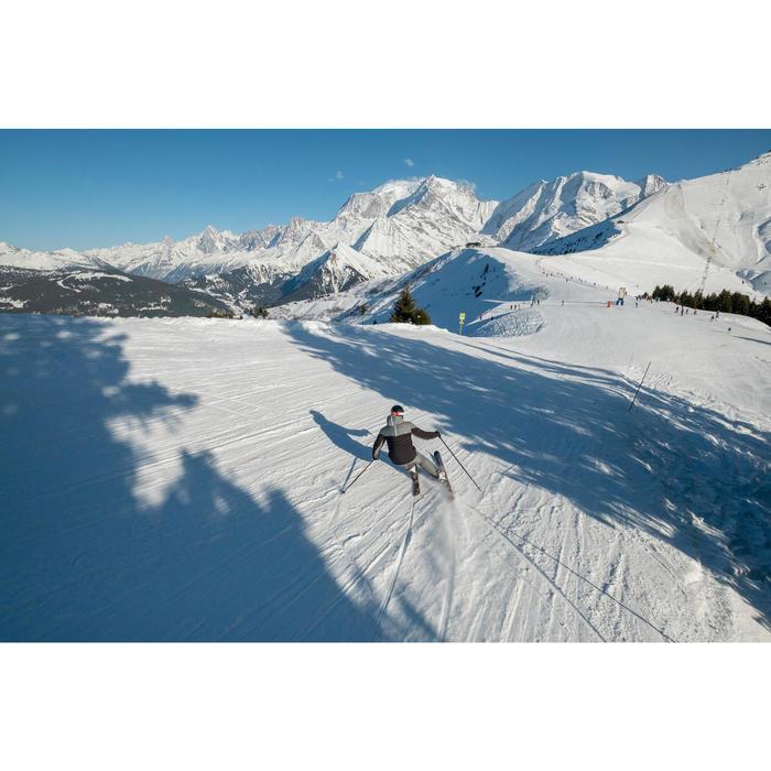 Skijacke Piste 900 Warm Herren schwarz
