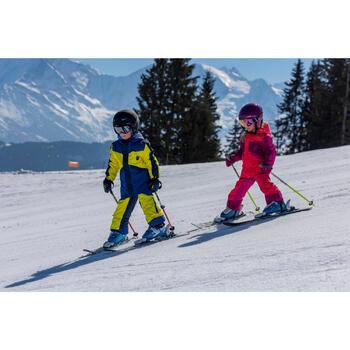Ski- en snowboardhelm kinderen Stream 500 zwart.
