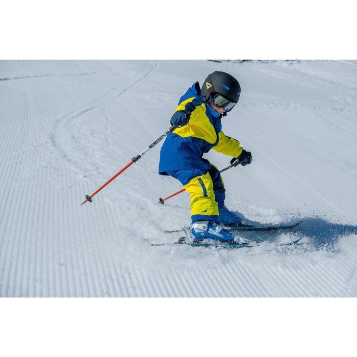CHILDREN'S SKI BOOTS PUMZI 500 - BLUE