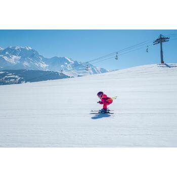 Casque de ski et de snowboard enfant H 400 JR violet.