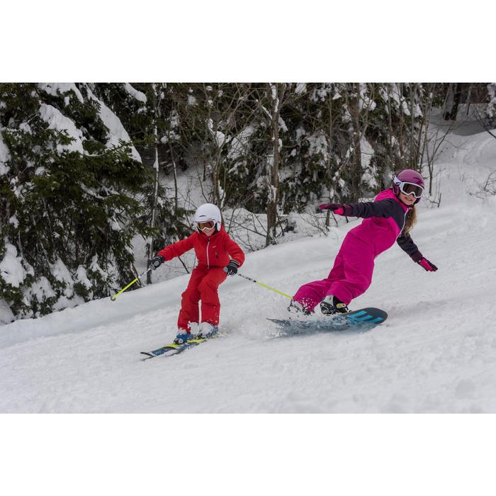 Snowboard all mountain freestyle, junior, End Zone 12 cm jaune, noir, bleu - 1245159