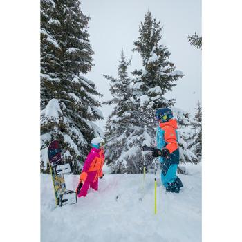 Snowboard All Mountain Freestyle Endzone 120cm Kinder gelb/schwarz/blau