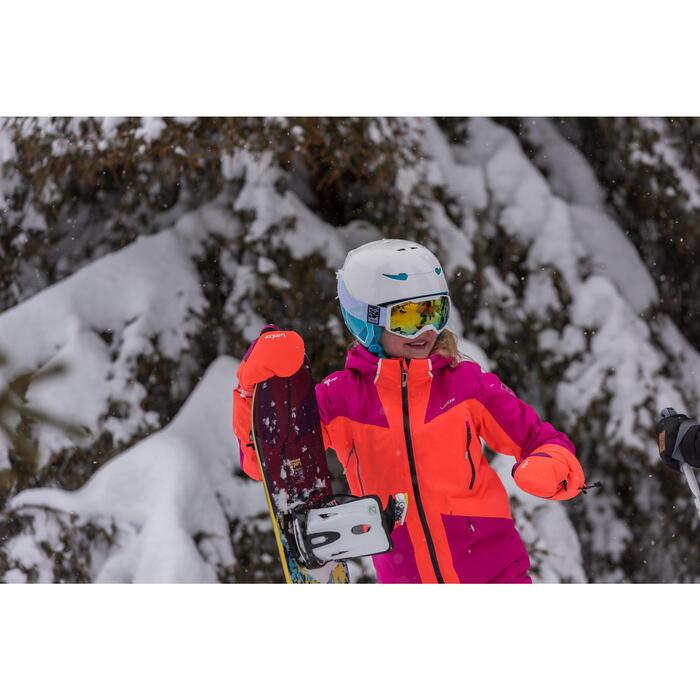 GAFAS DE ESQUÍ Y DE SNOWBOARD MUJER BONES 500 BUEN TIEMPO BLANCO - 18