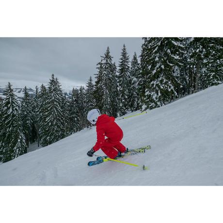 combinaison de ski enfant ski p suit 100 rouge wedze. Black Bedroom Furniture Sets. Home Design Ideas