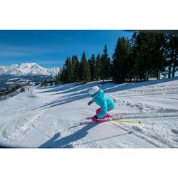 MASQUE DE SKI ET DE SNOWBOARD FEMME ET FILLE G 500 BEAU TEMPS BLANC ASIE