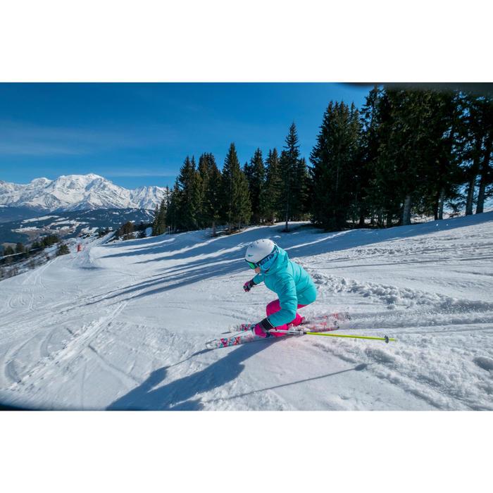 Ski- en snowboardbril voor dames en meisjes G 500 zonnig weer wit