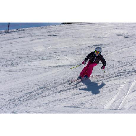 veste ski fille warm reverse turquoise wedze. Black Bedroom Furniture Sets. Home Design Ideas