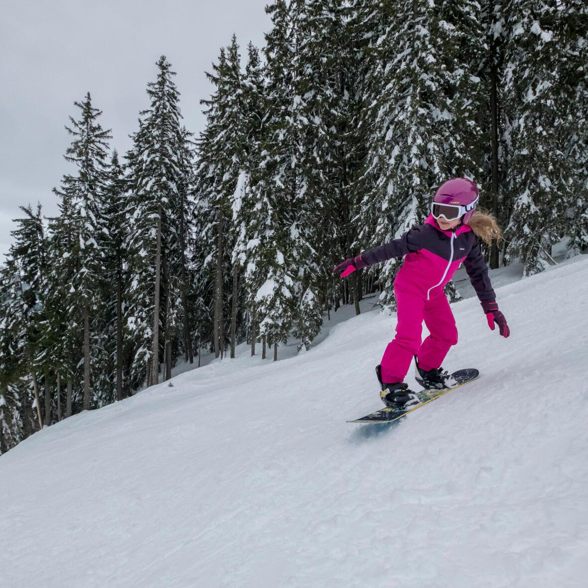snowboard girl kids