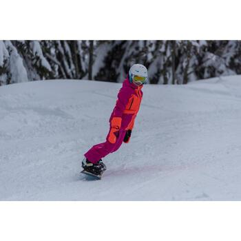 VESTE SKI 700 FILLE ROSE ORANGE FLUO - 1245210