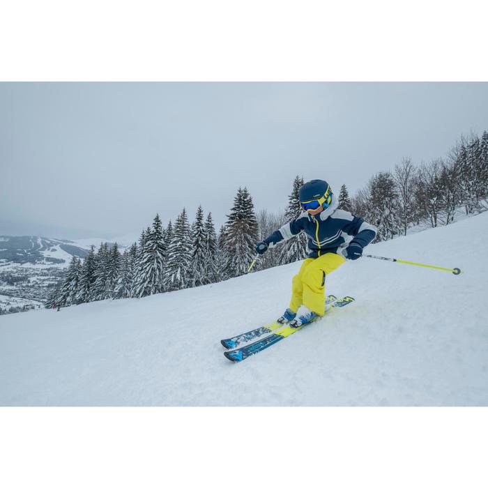 Ski-jas voor kinderen SKI-P JKT 900 blauw en grijs