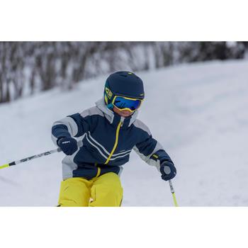 VESTE DE SKI ENFANT SKI-P JKT 900  BLEUE ET GRISE