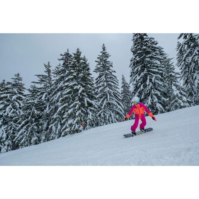 Casque de ski et de snowboard enfant Stream 500 JR bleu.