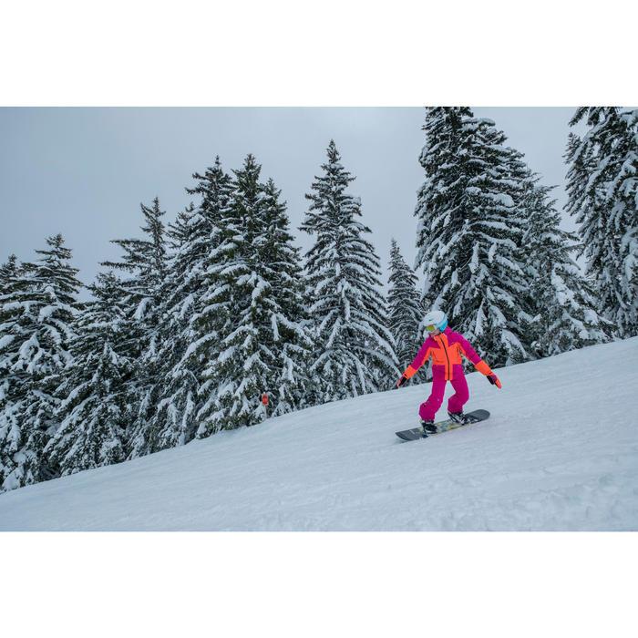 MASQUE DE SKI ET DE SNOWBOARD HOMME BONES 500 BEAU TEMPS GRIS-18 - 1245225