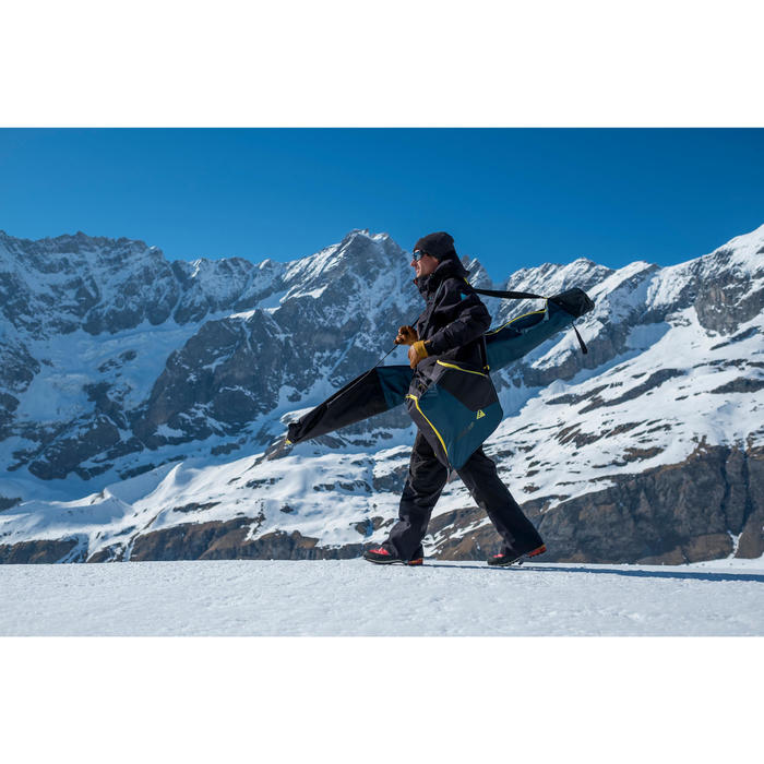 Skischuhtasche TRVLCOVBOOT 500 türkis