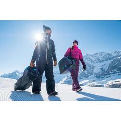 單/雙板滑雪袋SKISNB TRVLBAG 900 - 灰色