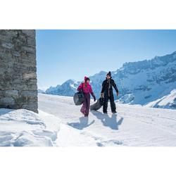 FUNDA PARA ESQUÍS Y SNOWBOARD SKISNB TRVLBAG 900 GRIS