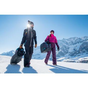 HOUSSE À SKIS ET SNOWBOARDS SKISNB TRVLBAG 900 GRISE