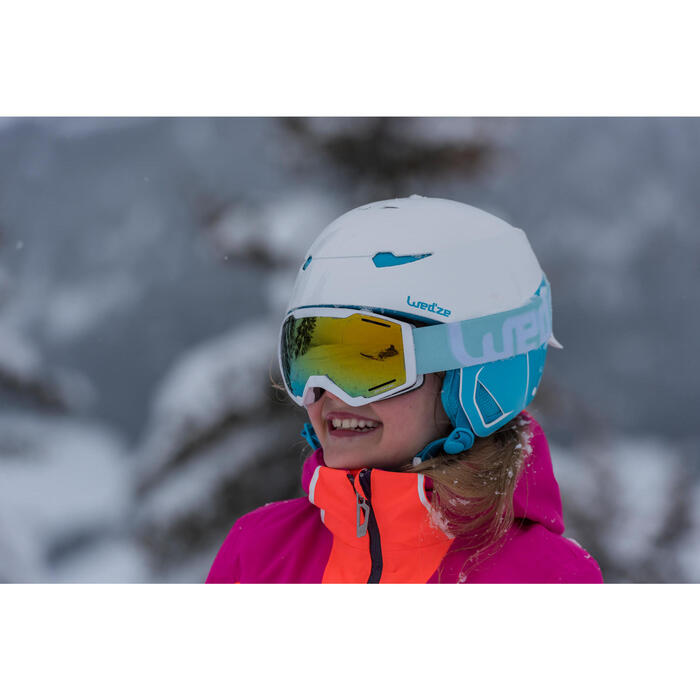 Casque de ski et de snowboard enfant Stream 500 JR noir. - 1245257