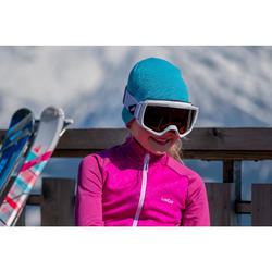 Kids' Ski Reverse Hat - Black Red