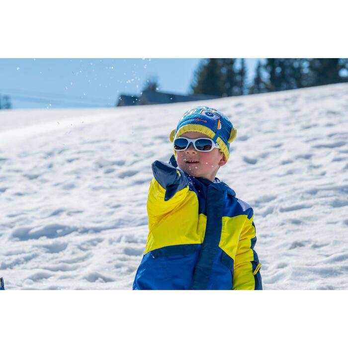 BONNET DE SKI KID GARCON ROBOT BLEU JAUNE - 1245268