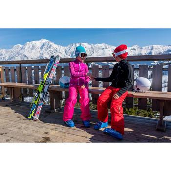 Skimuts Reverse voor kinderen roze/blauw