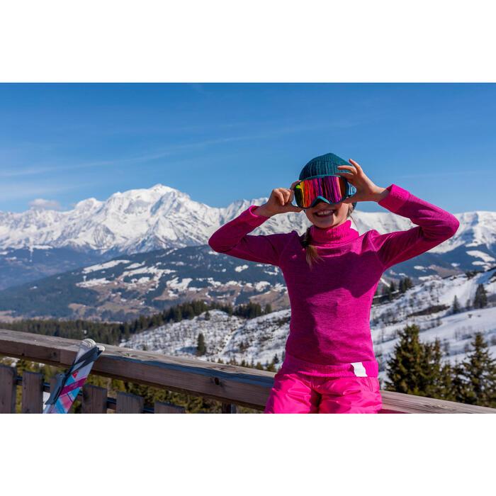 Ondershirt voor skiën 2WARM New Roze