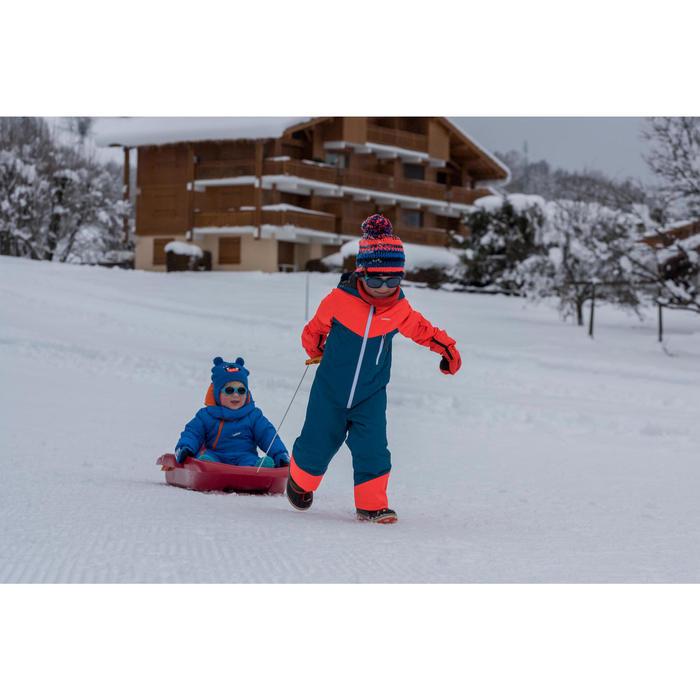 Schneeanzug 100 Kleinkinder blau/orange
