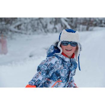 兒童滑雪烏香卡毛帽 - 藍色