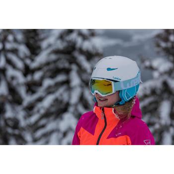 MASQUE DE SKI ET DE SNOWBOARD HOMME BONES 500 BEAU TEMPS GRIS-18 - 1245361