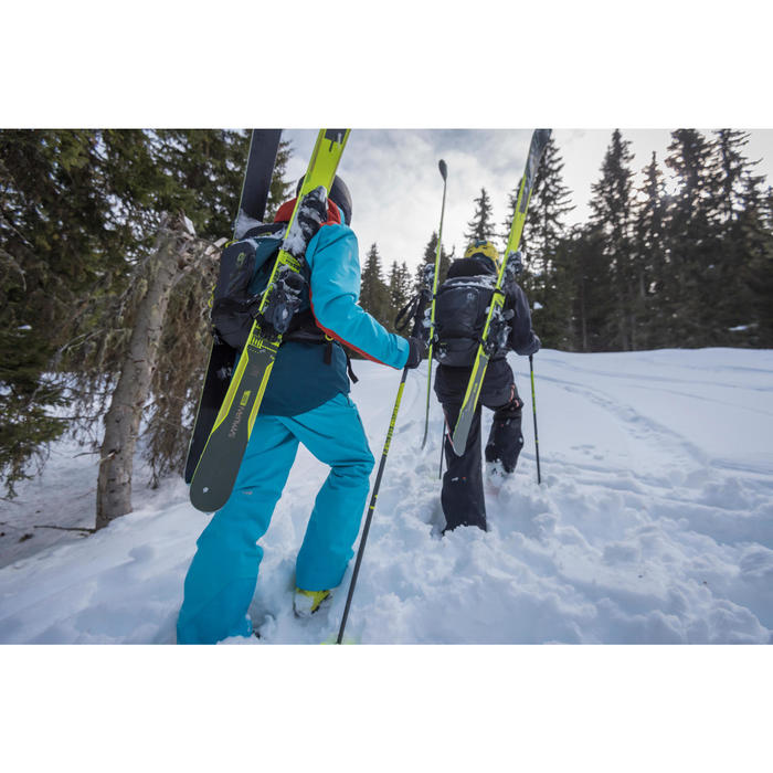 Freeride ski's Samurai 500 geel