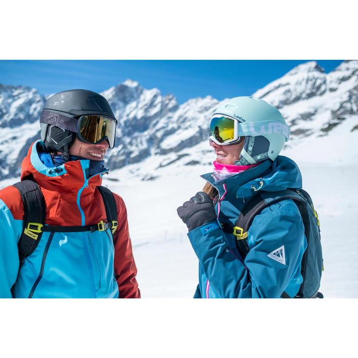 MASQUE DE SKI ET DE SNOWBOARD ADULTE ET ENFANT G 500 BEAU TEMPS NOIR