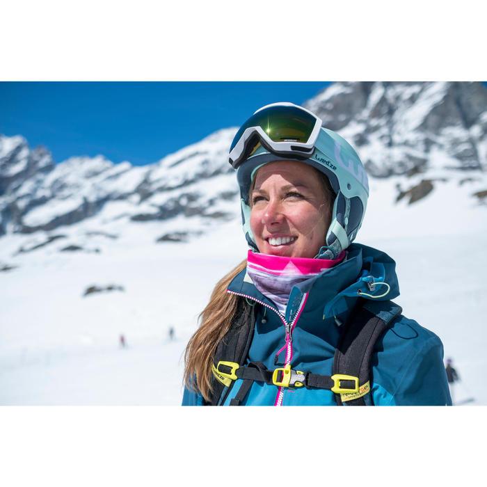Skibrille Bones 500 Damen schönes Wetter weiß